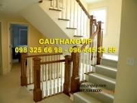 Cầu thang gỗ đẹp VIP-G10