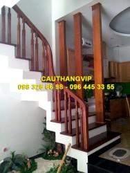 Cầu thang gỗ đẹp VIP-G14