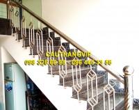 Cầu thang inox đẹp VIP I08