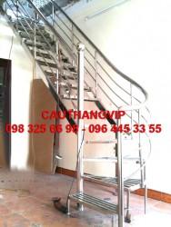Cầu thang xương cá INOX VIP XS03