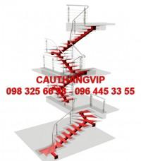 Cầu thang xương cá VIP XS07