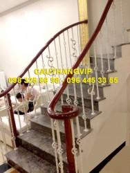 Cầu thang sắt nghệ thuật đẹp VIP SMT20