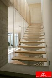 Cầu thang dây cáp, cầu thang xương cá VIP C06