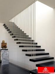Cầu thang dây cáp inox VIP C09