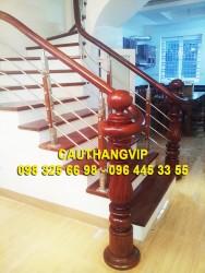 Cầu thang INOX đẹp VIP I01