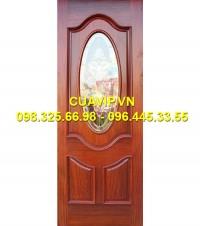 Cửa thông phòng gỗ đẹp  VIP C412
