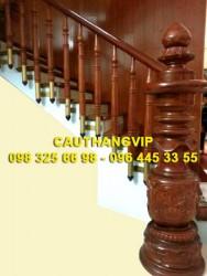 Cầu thang gỗ đẹp VIP-G16