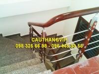 Lan can INOX VIP I02, cầu thang inox thông dụng
